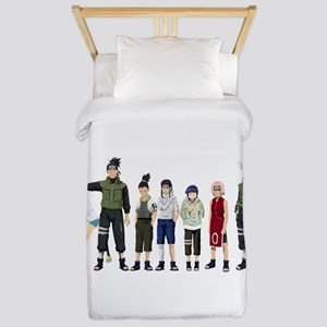 Anime characters Twin Duvet