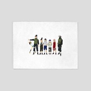 Anime characters 5'x7'Area Rug