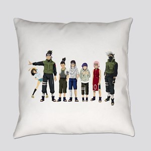 Anime characters Everyday Pillow