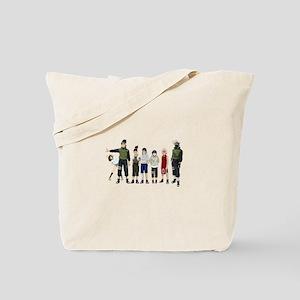 Anime characters Tote Bag