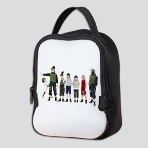 Anime characters Neoprene Lunch Bag