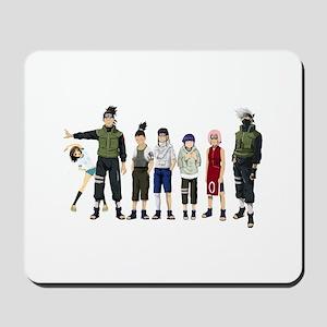 Anime characters Mousepad