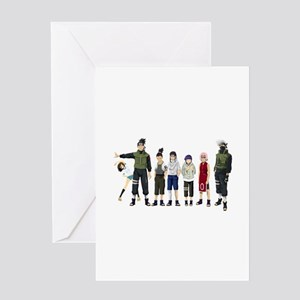 Anime Characters Greeting Cards
