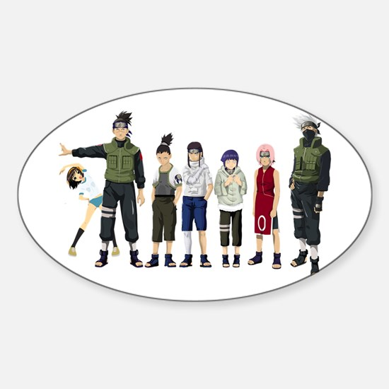 Anime characters Decal