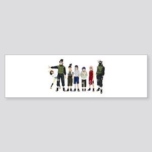 Anime characters Bumper Sticker