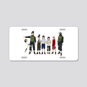 Anime characters Aluminum License Plate