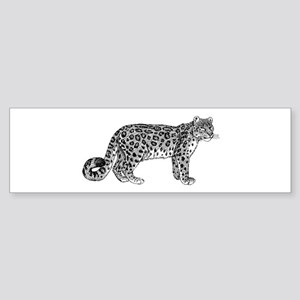 Snow leopard Bumper Sticker