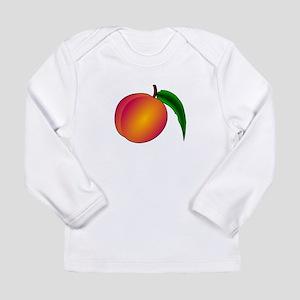Coredump Peach Long Sleeve T-Shirt