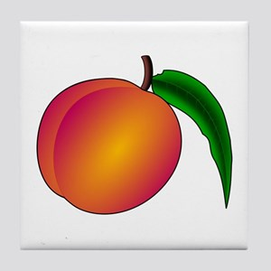 Coredump Peach Tile Coaster