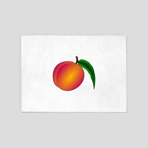 Coredump Peach 5'x7'Area Rug