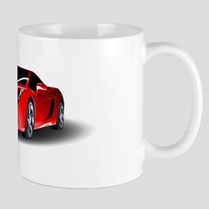 Red lamborghini Mugs