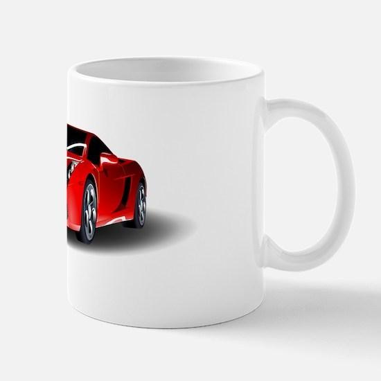 Red lamborghini Mugs