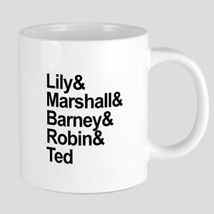 How I Met Your Mother Cast Mugs