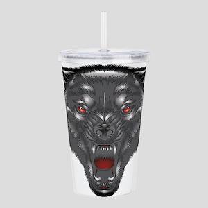 Alpha wolf Acrylic Double-wall Tumbler