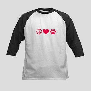 Peace, Love, Pets Baseball Jersey