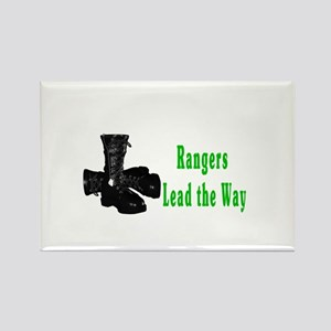 rangers lead the way Rectangle Magnet