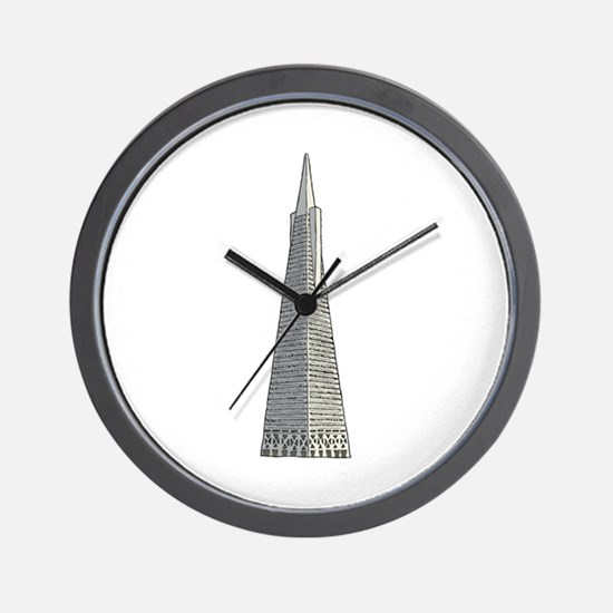 Transamerica building Wall Clock