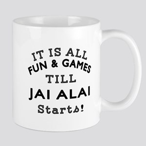 Jai Alai Fun And Games Designs Mug