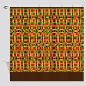 Colorful Kente Shower Curtain