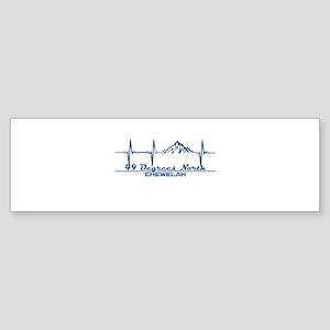 49 Degrees North Ski Area - Chewe Bumper Sticker