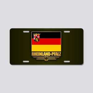 Rheinland-Pfalz Aluminum License Plate