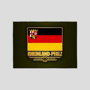 Rheinland-Pfalz 5'x7'Area Rug