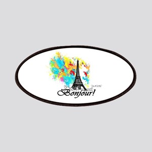 BONJOUR EIFFEL TOWER PARIS Patch