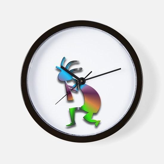 One Kokopelli #5 Wall Clock