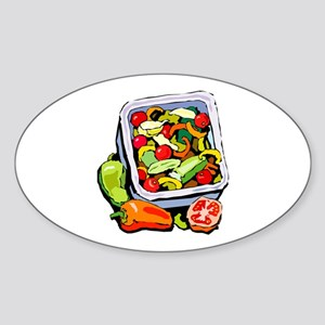 Vegetable salad mix Sticker