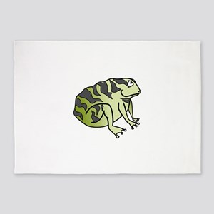 Green Toad 5'x7'Area Rug