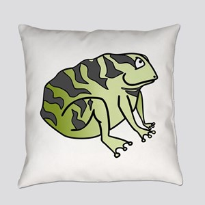 Green Toad Everyday Pillow