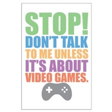 Don't Talk Posters