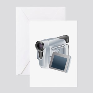 Camcorder Jh Greeting Cards
