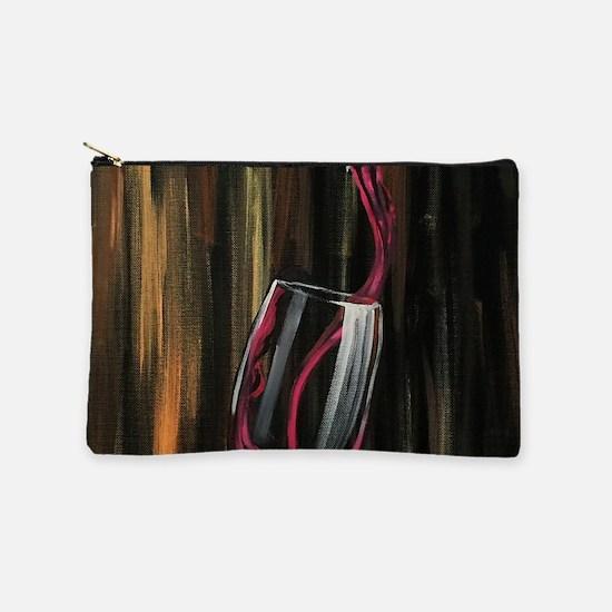 Fine Wine Makeup Bag