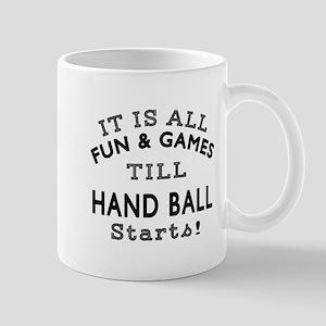 Hand Ball Fun And Games Designs Mug