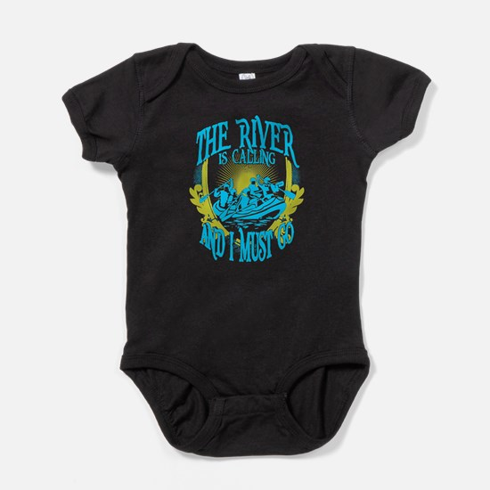 The River is Calling Baby Bodysuit