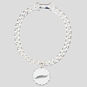 Slug Charm Bracelet, One Charm