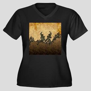 Beatiful dark vintage art Plus Size T-Shirt