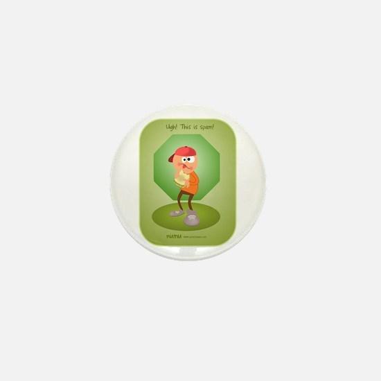 Spam Mini Button