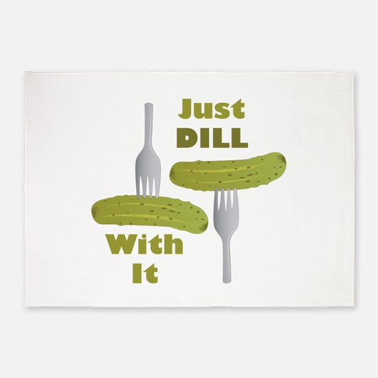 Dill With It 5'x7'Area Rug