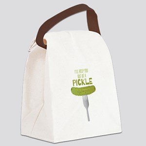 A Pickle Canvas Lunch Bag