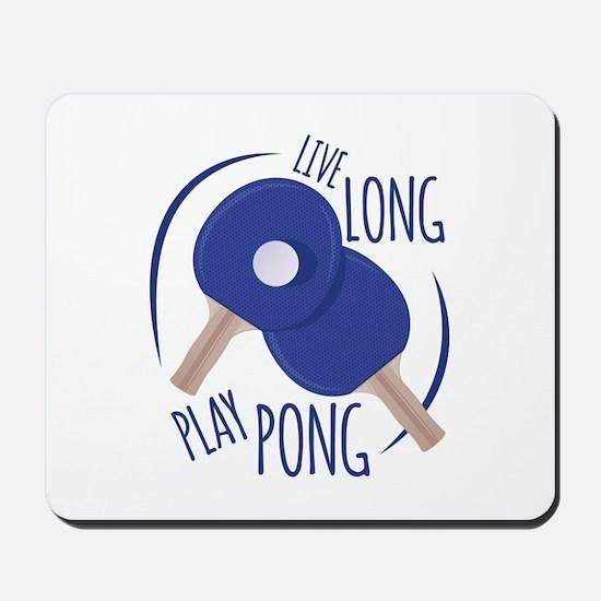 Play Pong Mousepad