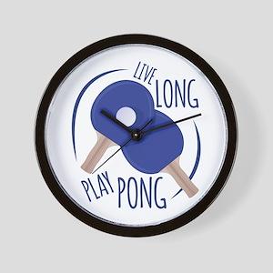 Play Pong Wall Clock