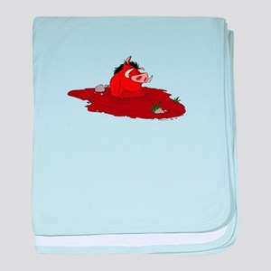 The Lion King in water baby blanket