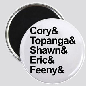 Boy Meets World Cast Magnets