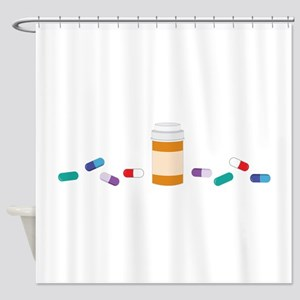 Pharmacy Prescription Shower Curtain