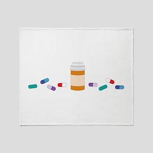 Pharmacy Prescription Throw Blanket