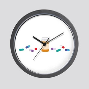 Pharmacy Prescription Wall Clock