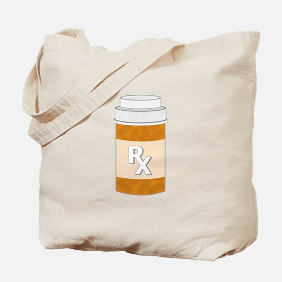 Prescription Bottle Tote Bag
