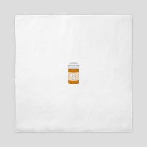 Prescription Bottle Queen Duvet